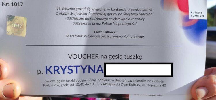 Kujawsko-pomorska gęsina na świętego Marcina przed RDK!