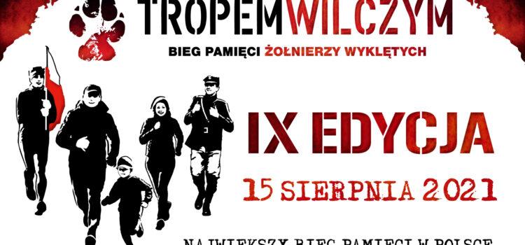 """Zmiana terminu biegu """"Tropem Wilczym"""" – 15 sierpnia 2021 r."""