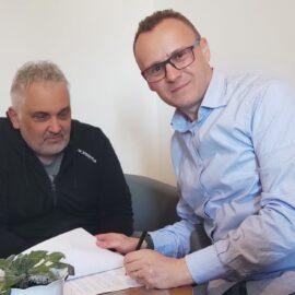 Umowa na wyposażenie sali RDK podpisana
