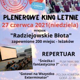Plenerowe Kino Letnie – 27 czerwca (niedziela)